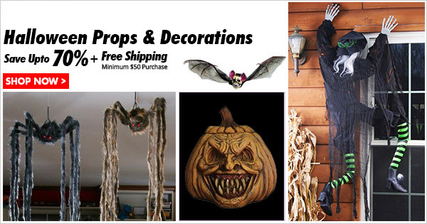 Halloween Decorations and Halloween Props